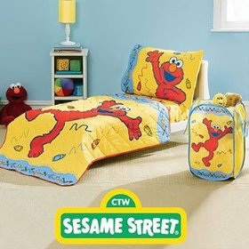 Captivating Elmo Sesame Street Toddler/ Crib Comforter U0026 Sheet Set U2013 Elmo Bedding Set