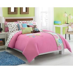 Roxy Be True Duvet, Sham & Sheet Set
