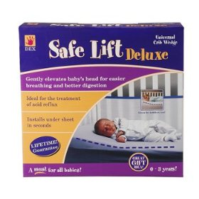 ... Crib Wedge – Baby Breathes Easier – Helps Relieve Acid Reflux