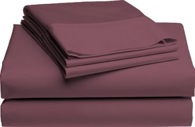 Pike St Sheets - Plum
