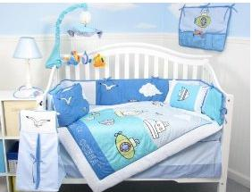 Sea Quest Baby Infant Crib Nursery Bedding Set