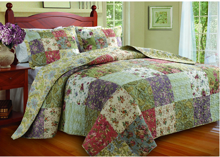 Wonderful Bedding For Spring Or Summer. Greenland Home Blooming Prairie Comforter Set